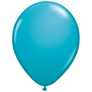 "11"" Latex Balloon, Teal available at Shop Sweet Lulu"