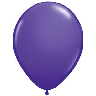 "11"" Latex Balloon, Violet available at Shop Sweet Lulu"