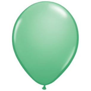 "11"" Latex Balloon, Wintergreen available at Shop Sweet Lulu"