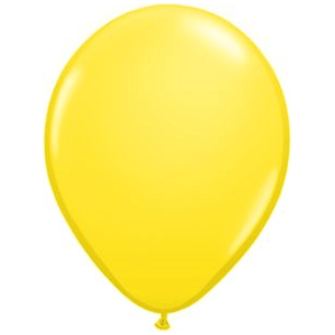 "11"" Latex Balloon, Sunshine Yellow available at Shop Sweet Lulu"