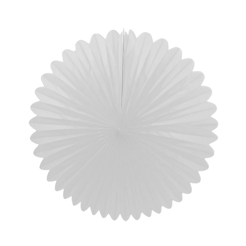 "White 13"" Flower Fanburst available at Shop Sweet Lulu"