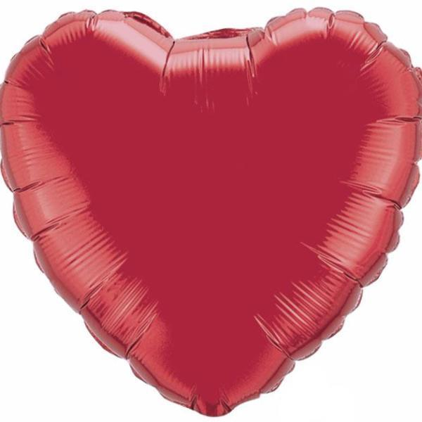 "18"" Red Foil Heart Balloon available at Shop Sweet Lulu"