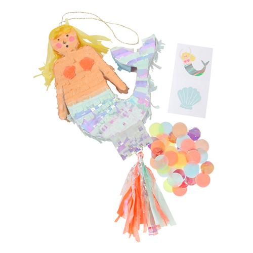 Mermaid Pinata Favor available at Shop Sweet Lulu