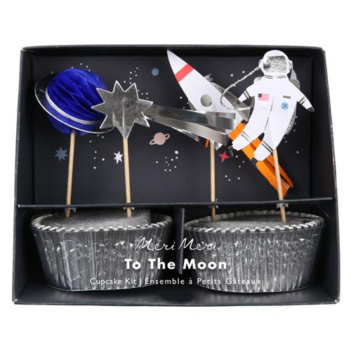 Space Cupcake Kit available at Shop Sweet Lulu