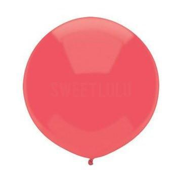 "17"" Watermelon Red Round Balloon available at Shop Sweet Lulu"