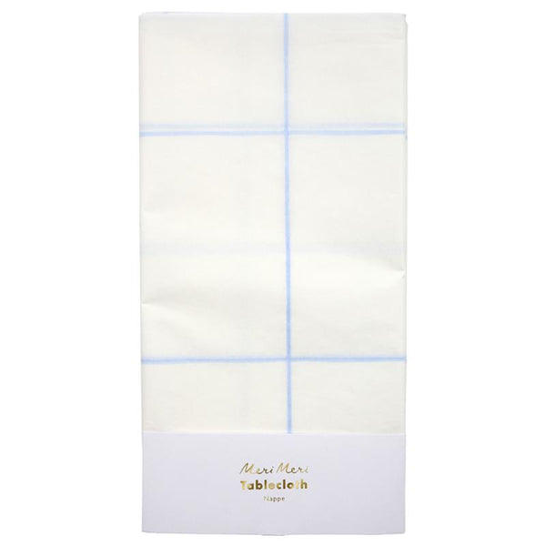 Blue Grid Table Cloth available at Shop Sweet Lulu