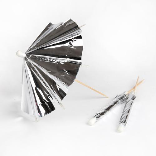 Silver Cocktail Umbrellas available at Shop Sweet Lulu