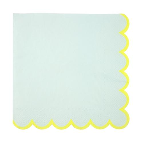Large Mint Pastel Napkins available at Shop Sweet Lulu