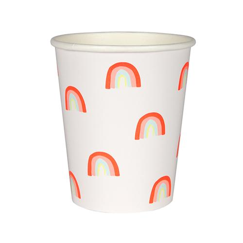 Rainbow Pattern Party Cups available at Shop Sweet Lulu