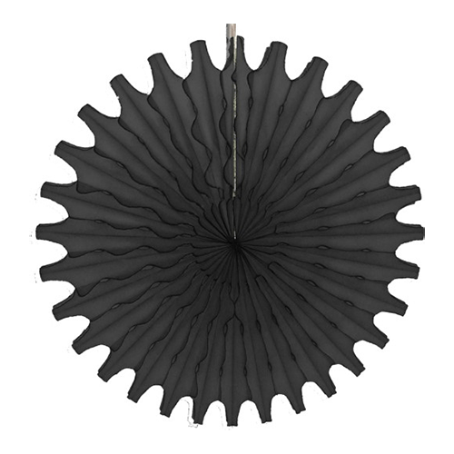 "Black 18"" Honeycomb Fan available at Shop Sweet Lulu"