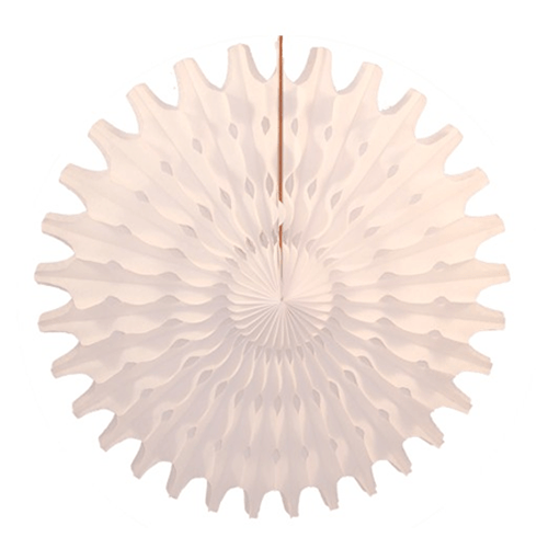 "White 18"" Honeycomb Fan available at Shop Sweet Lulu"
