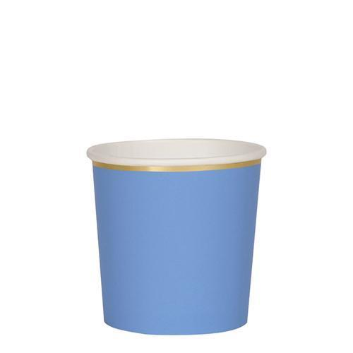 Bright Blue Tumbler Cups