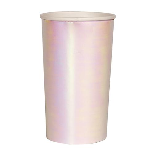 Iridescent Highball Cups