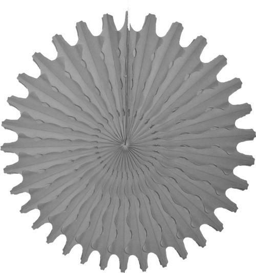 "Baby Gray 18"" Honeycomb Fan available at Shop Sweet Lulu"