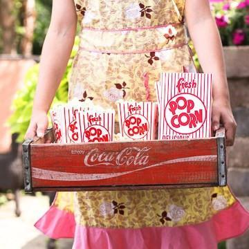 Vintage Style Popcorn Boxes available at Shop Sweet Lulu