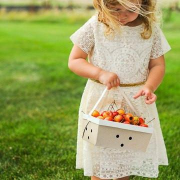 Berry Basket with Handle available at Shop Sweet Lulu