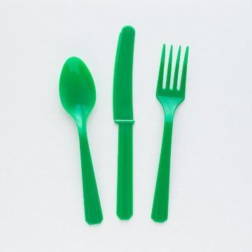 Grass Green Utensil Set available at Shop Sweet Lulu