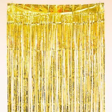 Gold Fringe Curtain available at Shop Sweet Lulu