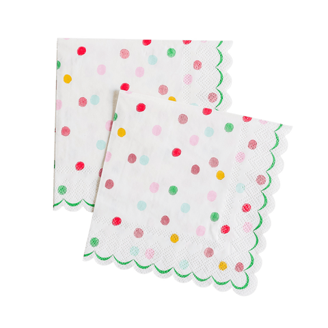 'It's a Party' Small Dotty Napkins
