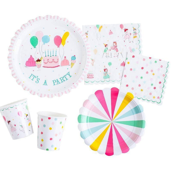 'It's a Party' Large Vintage Napkins available at Shop Sweet Lulu