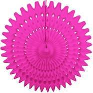 "Magenta 21"" Honeycomb Fan available at Shop Sweet Lulu"