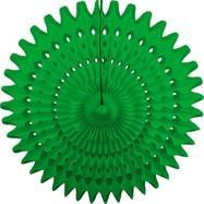 "Grass Green 21"" Honeycomb Fan available at Shop Sweet Lulu"