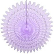 "Lilac 21"" Honeycomb Fan available at Shop Sweet Lulu"