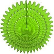 "Lime Green 21"" Honeycomb Fan"