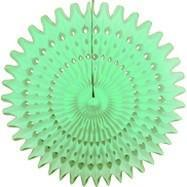"Mint Green 21"" Honeycomb Fan available at Shop Sweet Lulu"