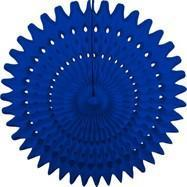 "Royal Blue 21"" Honeycomb Fan"