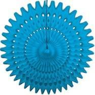 "Turquoise 21"" Honeycomb Fan available at Shop Sweet Lulu"