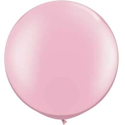 "30"" Round Balloon, Pink Pearl"