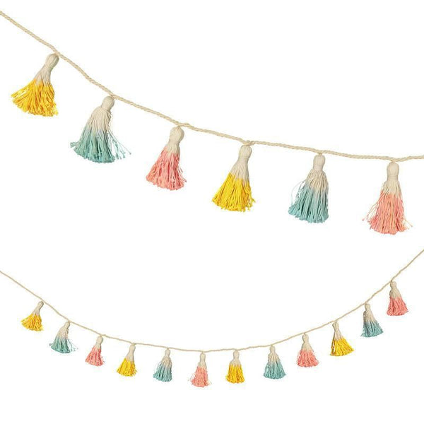 Dipped Cotton Tassel Garland available at Shop Sweet Lulu