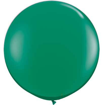 "36"" Round Balloon: Emerald available at Shop Sweet Lulu"
