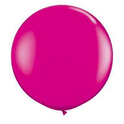 "36"" Round Balloon: Wild Berry available at Shop Sweet Lulu"