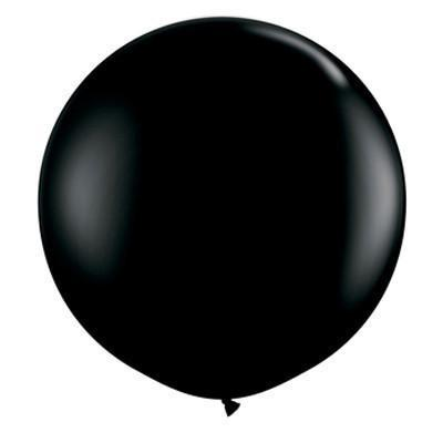 "36"" Round Balloon: Onyx Black available at Shop Sweet Lulu"