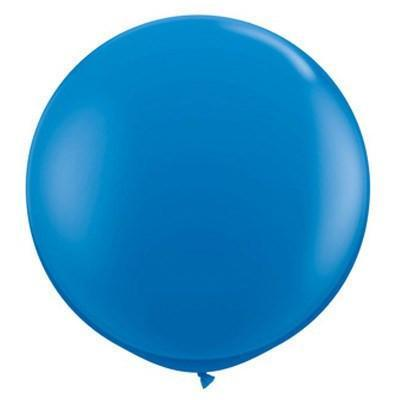 "36"" Round Balloon: Royal Blue Jewel available at Shop Sweet Lulu"