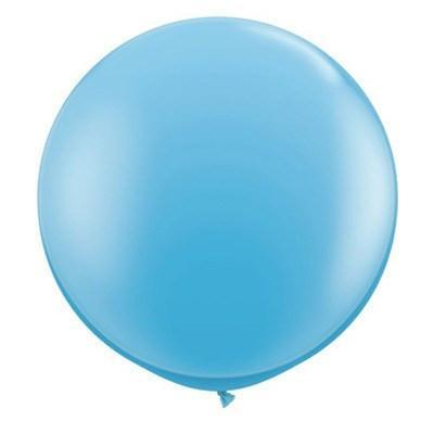 "36"" Round Balloon: Baby Blue available at Shop Sweet Lulu"