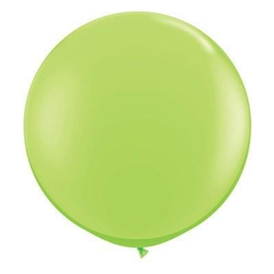 "36"" Round Balloon: Lime Green available at Shop Sweet Lulu"