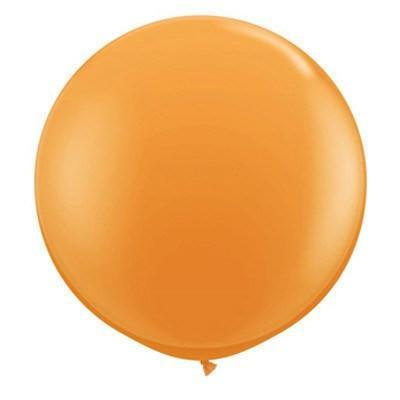 "36"" Round Balloon: Juicy Orange available at Shop Sweet Lulu"