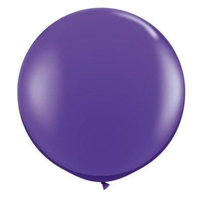 "36"" Round Balloon: Violet available at Shop Sweet Lulu"