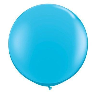 "36"" Round Balloon: Sky Blue available at Shop Sweet Lulu"