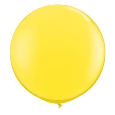 "36"" Round Balloon: Sunshine Yellow available at Shop Sweet Lulu"