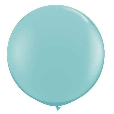 "36"" Round Balloon: Robin's Egg Blue"