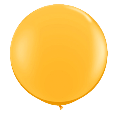 "36"" Round Balloon: Goldenrod available at Shop Sweet Lulu"