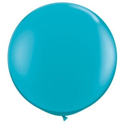 "36"" Round Balloon: Teal available at Shop Sweet Lulu"