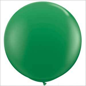 "36"" Round Balloon: Grass Green available at Shop Sweet Lulu"