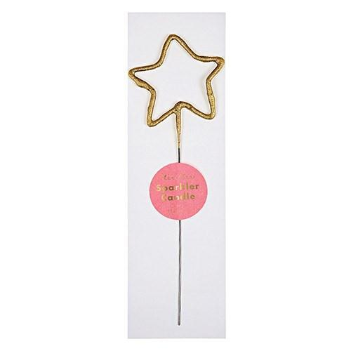 Wonder Candle Sparkler, Star available at Shop Sweet Lulu