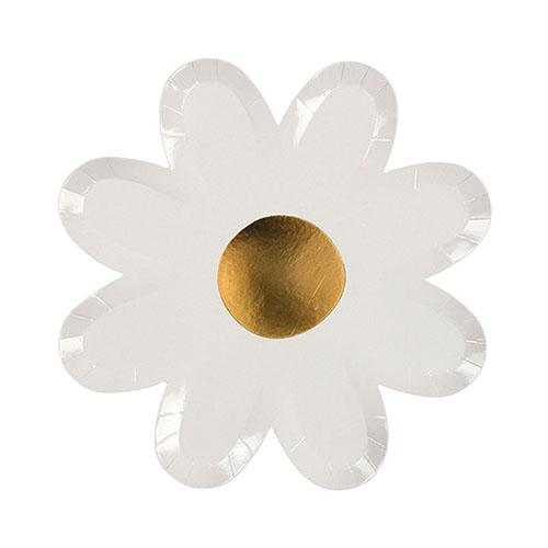 White Daisy Plates available at Shop Sweet Lulu