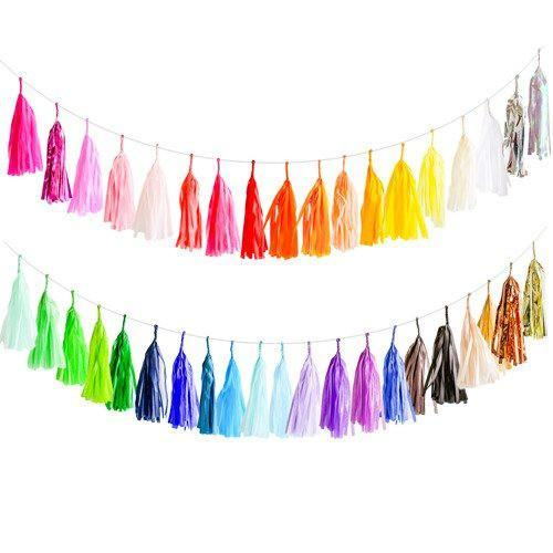 Custom Tassel Garland available at Shop Sweet Lulu